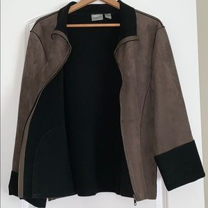 Chico's Jackets & Coats - CHICO'S Suede Jacket